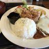 はなや食堂 - 料理写真:ハンバーグプレート