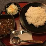 和風カレー処 三休庵 - チキンカレー 税込860円