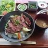 なすとらん - 料理写真:那須和牛ステーキ丼セット