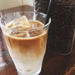 スマイル - 自家焙煎スペシャリティーコーヒー豆使用 カフェラテ