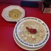 元祖タンメン屋 - 料理写真:半チャーセット