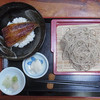 手打ちそば松竹 - 料理写真:うな丼セット 1300円