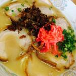 ラーメン楽 - チャーシュー麺