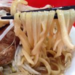 ラーメン二郎 - 麺リフト。