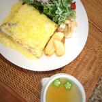 PAN CAFE Gii - チーズフレンチトースト