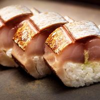 当店でしか味わえない鯖寿司!