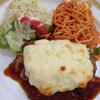ガロ - 料理写真:チキンとポテトの重ね焼き