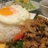 タイ料理 パヤオ - 料理写真:ガパオライス