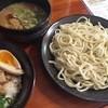 樂笑 - 料理写真:つけ麺+チャーシュー御飯(980円)