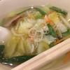 ロジェ・カフェヌードル - 料理写真:野菜ラーメン。細平麺珍しい。