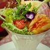 コンコンブル - 料理写真:サラダパフェロワイヤル
