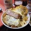 伊勢屋 - 料理写真:カツ丼 ¥800 相変わらず肉のボリュームがヤバイo(^▽^)o