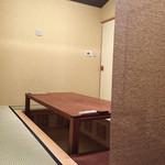 鮨柳屋 - 掘りごたつのお部屋
