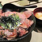 壱屋 - ローストビーフ丼大盛