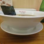 黄金の塩らぁ麺 ドゥエ イタリアン - 醤油らぁ麺