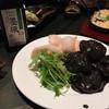 五十六 - 料理写真:イカスミ入り海老マヨ