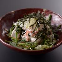 国分寺そば - お豆腐サラダ