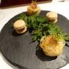 Vel  ROsier - 料理写真:1509_VelROsier_前菜_フォアグラマカロン&大和芋丹波黒豆