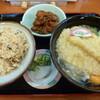 Yahataすしべん - 料理写真:松茸ご飯セット(税込698円)