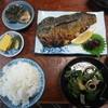 大谷食堂 - 料理写真:焼き鯖定食 1150円(税別) (2015.9)