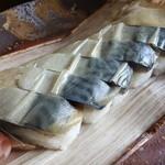 栃生梅竹 - 鯖寿司(極上)