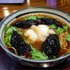 長寿庵 - 料理写真:揚げナスそば 850円