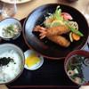 道の駅 あいお - 料理写真:エビフライ定食(極上)
