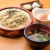 富じ亭 - 料理写真:会津地鶏ざるそば 1350円(+税)