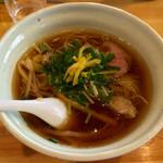 麺堂HOME - 「鶏淡麗ら~めん しょうゆ」700円