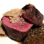 インカント - 料理写真:牛ランプにたっぷりの秋トリュフ、ズーコのソース