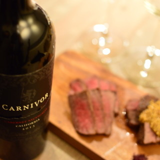 「肉専用」黒ワイン!カーニヴォ