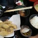 まるさん松本 - 丸アジ定食
