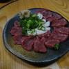 ゑびすこ - 料理写真:熊本産の馬刺し&たてがみ