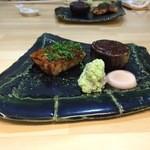 佐とう - 焼き物(カジキと茄子)
