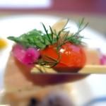 風のテラスKUKUNA - 蒸し鷄とハーブサラダ