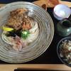 饂飩 梵蔵 - 料理写真:唐揚げぶっかけ