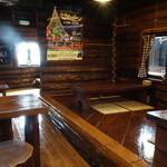 丸太小屋レストラン  びんずる - 店内の様子
