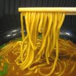 麺ジャラスK - Kの由来は硬麺の麺リフトアップ