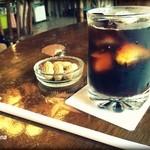 軽食・喫茶 リバー - アイスコーヒー