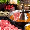 相撲茶屋 恵大苑 - 料理写真:スープカレーしゃぶしゃぶ