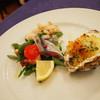 チェルボ - 料理写真:前菜の盛り合わせ:秋刀魚のマリネ、タコのルチアール風他