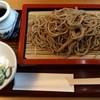 そばや酒 然 - 料理写真:大盛りそば1200円、ランチは生たまごサービスです。