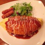 キッチンカフェ なんたり - オムライス800円