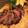 MILK CAFE - 料理写真:白神さくら和牛のステーキ・ローストポテトとルッコラサラダ