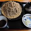 脱サラ蕎麦屋 猫のしっぽ - 料理写真:「大もり蕎麦 \800」は、290g・・・。