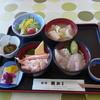 魚がし - 料理写真:ミニ丼で2種類(972円)を選択