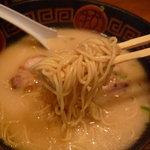 ないな - ☆麺は少し細麺ですね(*^^)v☆