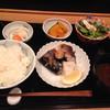 Kisaku - 料理写真:さばの塩焼きランチ@1000円