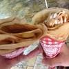 マリオンクレープ - 料理写真:アップルカスタードとバナナキャラメル