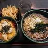 ゆで太郎 - 料理写真:親子丼セット+かきあげ(サービス) ¥560-